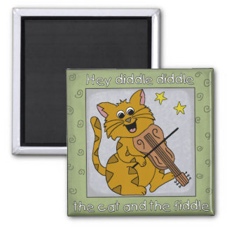 Hey Diddle Diddle, Nursery Rhyme Magnet