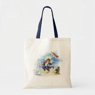 Hey, Diddle Diddle Nursery Rhyme Tote Bag