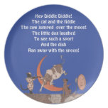 Hey Diddle Diddle! Party Plate