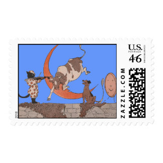 Hey Diddle Diddle Stamps