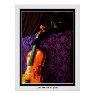 Hey diddle diddle the Cat and the Fiddle Poster