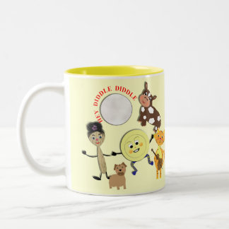Hey Diddle Diddle the Cat and the Fiddle Rhyme Mug
