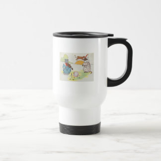 Hey, diddle, diddle!  The cat and the fiddle Travel Mug