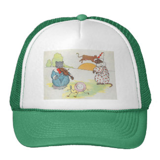 Hey, diddle, diddle!  The cat and the fiddle Trucker Hat