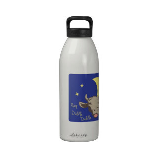 Hey Diddle Diddle Reusable Water Bottle