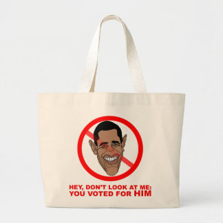 Hey, don't look at me: you voted for HIM Tote Bags