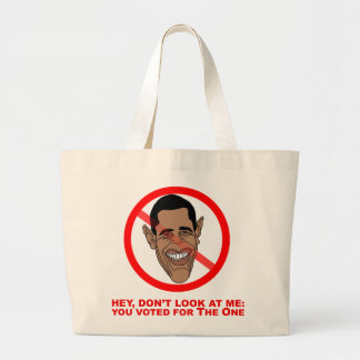 Hey, don't look at me: you voted for The One Large Tote Bag