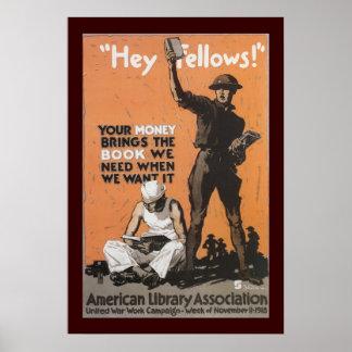 Hey Fellows Poster