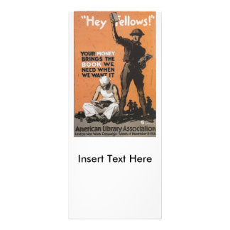 Hey Fellows World War II Rack Cards
