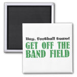 Hey, Football Team! 2 Inch Square Magnet