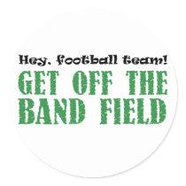 Hey Football Team Band Field