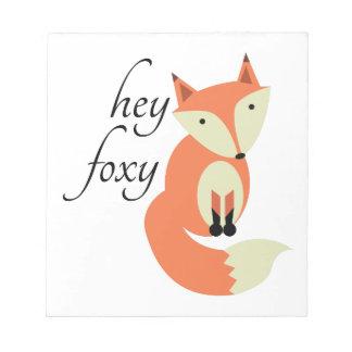 Hey Foxy Notepad