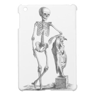 Hey Girl vintage skeleton Cover For The iPad Mini