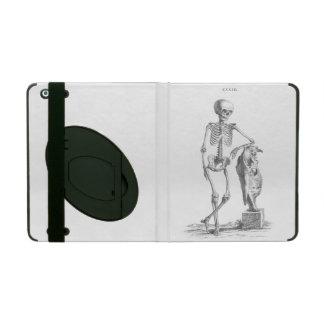 Hey Girl vintage skeleton iPad Cover