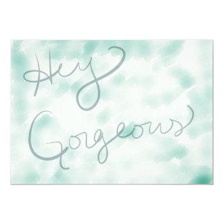 Hey Gorgeous Card