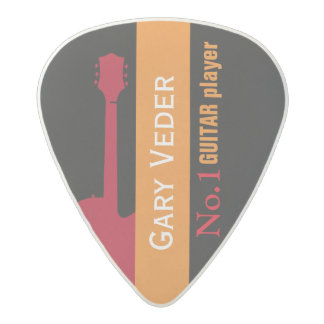 hey guitar-player, create your own acetal guitar pick