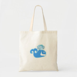 Hey Happy Whale Tote Bag