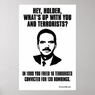 Hey Holder! Poster