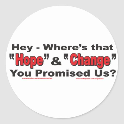 Hey---Hope-and-Change Stickers