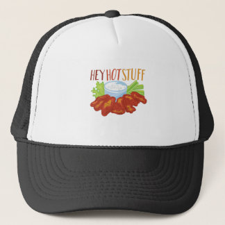 Hey Hot Stuff Trucker Hat