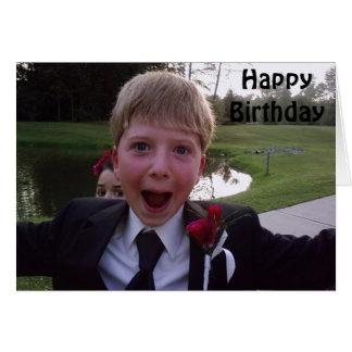HEY I SAID HAVE A HAPPY BIRTHDAY-COOL CARD