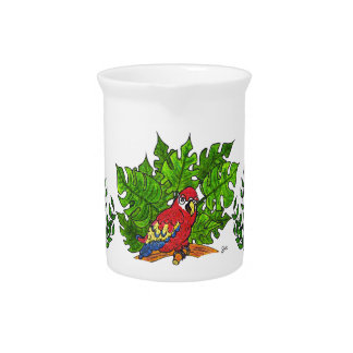 Hey I'm a Parrot !! Drink Pitcher