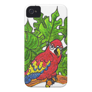 Hey I'm a Parrot !! iPhone 4 Case-Mate Cases