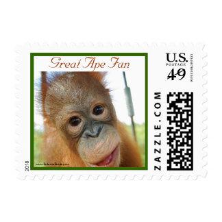 Hey, I'm Cute Wildlife Babies Stamp