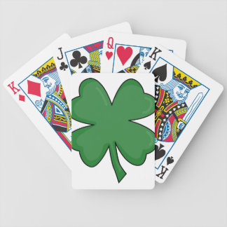 Hey Irish Sham-rock! Bicycle Playing Cards