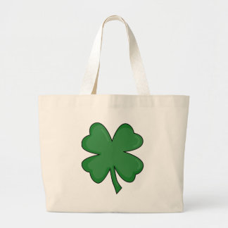 Hey Irish Sham-rock! Large Tote Bag