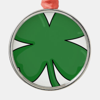 Hey Irish Sham-rock! Metal Ornament