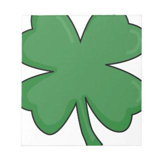 Hey Irish Sham-rock! Notepad