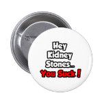 Hey Kidney Stones...You Suck! Pin