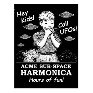 Hey Kids! Call UFOs! Postcard