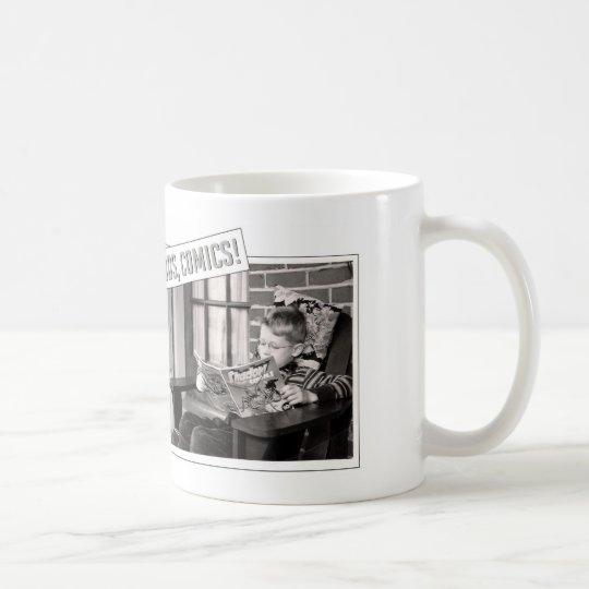 Hey Kids, Comics! Mug
