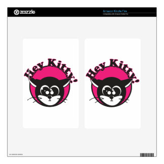 Hey Kitty Kindle Fire Decals