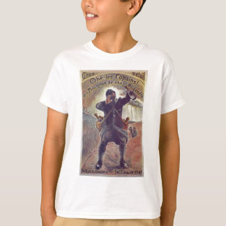 Hey Lads! Champagne By A. Grebel France WWI 1915 T-Shirt