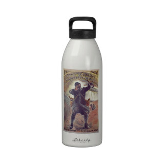 Hey Lads Champagne By A Grebel France WWI 1915 Water Bottles