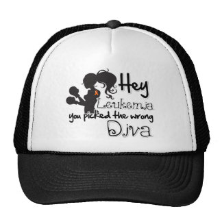 Hey Leukemia Cancer You Picked The Wrong Diva Hats