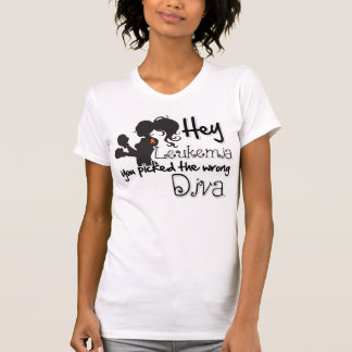 Hey Leukemia Cancer You Picked The Wrong Diva Tees