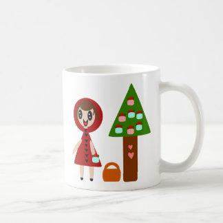 Hey Little Red Riding Hood and the Cupcake Tree Classic White Coffee Mug