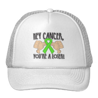 Hey Lymphoma Cancer You're a Loser Trucker Hat