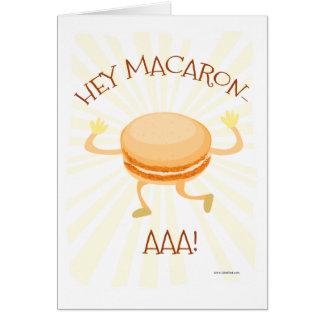Hey Macaron AAA Card