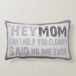 Hey Mom Lumbar Pillow