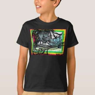 """Hey Mon"" Oil Pastel By Levi Glassrock T-Shirt"
