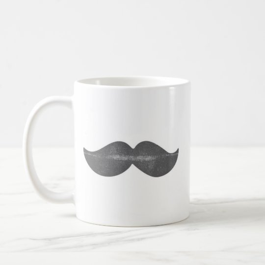 Hey!Mustache Coffee Mug