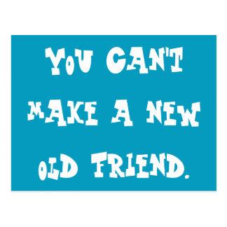 Hey, Old Friend Postcard