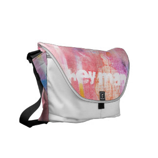 Hey one:: Curing ashes Messenger Bag