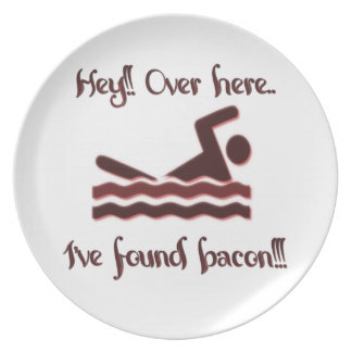 Hey over here ive found bacon dinner plates