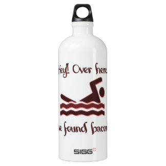 Hey over here ive found bacon SIGG traveler 1.0L water bottle